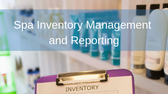 Spa Inventory Management and Reporting